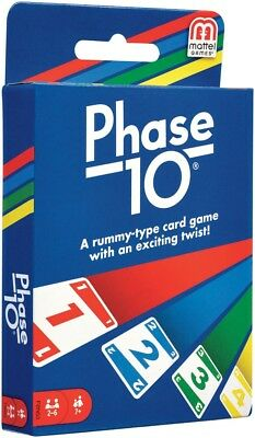 Phase 10 Card Game NEW By the makers of UNO