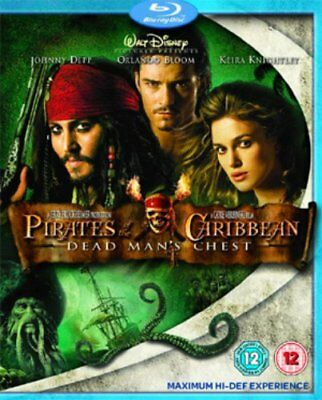 Pirates of the Caribbean - Dead Mans Chest - Sealed NEW Blu-ray