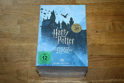 Dvd - Harry Potter - Complete Collection - 8 Dvd Box - Neu & Ovp