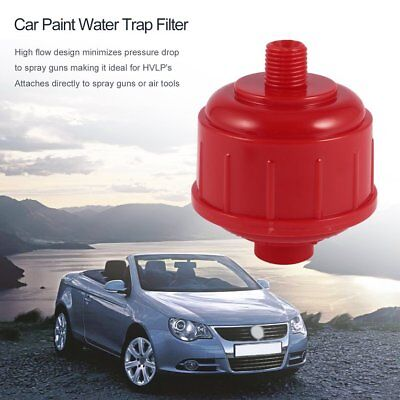 2pcs Car Vehicle Disposable Spray Paint Fluid Water Trap Wash Filter ToolPG