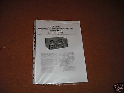 Eddystone EC10 Receiver Instruction and Service Manual  HAM RADIO