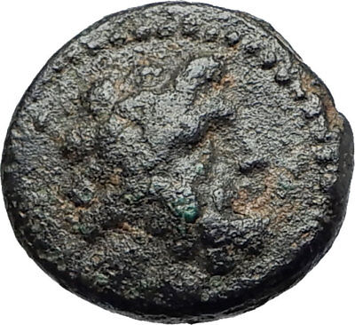 ARADOS in PHOENICIA Authentic Ancient 206BC Greek Coin w ZEUS & GALLEY i75450