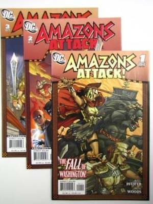 Comic - AMAZONS ATTACK #1 to #3