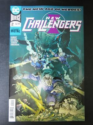 New Challengers #2 - August 2018 - DC Comic # 15A38