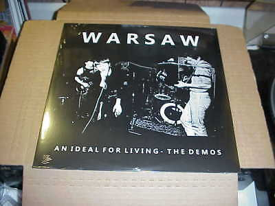 LP:  WARSAW - An Ideal For Living - The Demos NEW SEALED IMPORT Joy Division