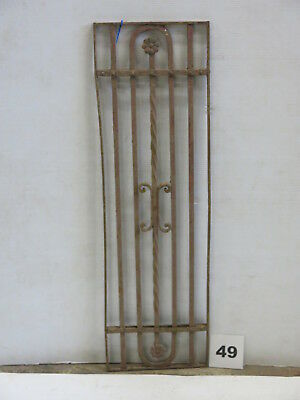 Antique Egyptian Architectural Wrought Iron Panel Grate (E-49)
