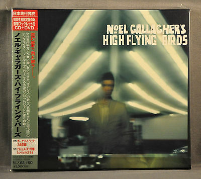 NOEL GALLAGHERS High Flying Birds +2 BONUS OASIS JAPAN Tour Ed CD+DVD SICP-3275