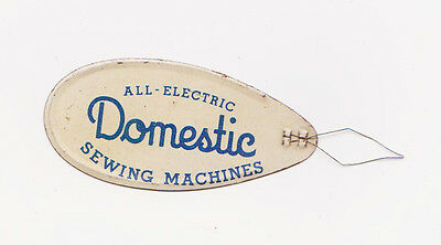 RARE 1930s DOMESTIC ALL ELECTRIC SEWING MACHINES SEWING NEEDLE THREADER NICE!