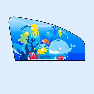 Universal Sun Shades Rear Left Side Seat Car Window Socks Baby Kids UV Protect~#