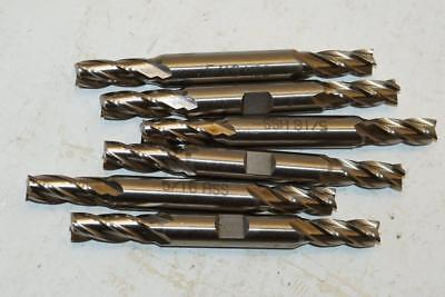 "New Polish Made 7//8/"" No43 HSS 6 Flute End mill 3//4/"" shank."