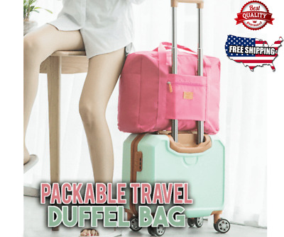 Packable Travel Duffel Bag NEW Style