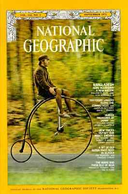 OLD RUSSIA Nat Geographic SEP 1972 ISLE of MAN  ALASKA JAPAN INSECTS
