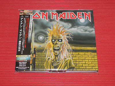 2015 REMASTER IRON MAIDEN Iron Maiden JAPAN DIGIPAK CD