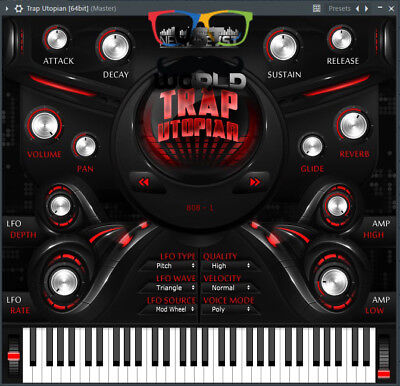 Trap Utopian VST plug-in - eDelivery