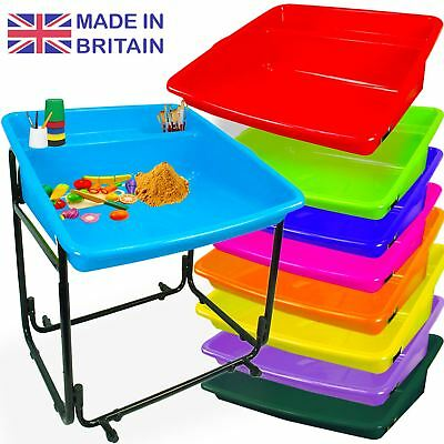 Plastic Portable Children Activity Play Tuff Spot MIXING TRAY Sand Pit Toy Water