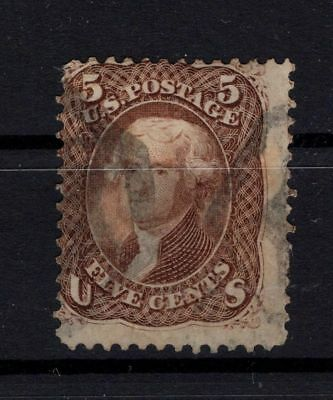 Bp101289/ United States / Y&t # 21 Oblitere / Used 125 €