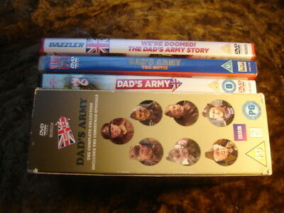 Dad's Army:complete Collection. + 2 Movies + Wer'e Doomed.17 Discs.1968-77.dvd