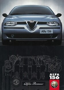 Alfa Romeo 156 1997 Launch Brochure Premiere Prospekt Catalogue Catalogo Folder