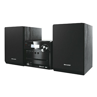 Sharp XL-B515D Stereo Micro Soundsystem CD DAB+ FM Bluetooth MP3 USB 40W RMS