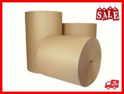 5m x 750MM 30'' CORRUGATED STRONG CARDBOARD PAPER ROLLS packaging parcel