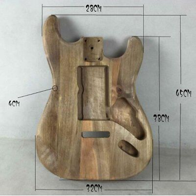 Unfinished DIY Guitar Body Maple Body For Fender ST Style Guitar  DK