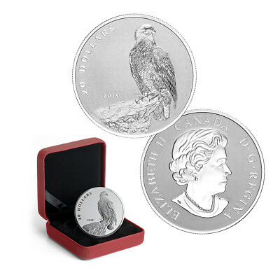 2019 $20 The Valiant One (Bald Eagle) Canada 1 oz Silver Proof