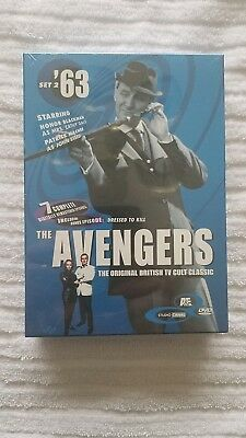 Avengers TV Show DVD Collection 1963 Set 2