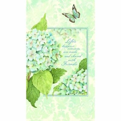 Blue Hydrangea Pocket Address Book, Journals and Housewares by Lang Companies
