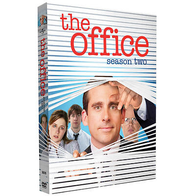 The Office - Season Two DVD, Steve Carell, John Krasinski, Jenna Fischer, Rainn