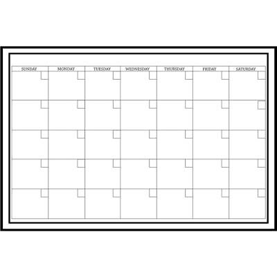 2019 Peel & Stick 24 X 36 Dry Erase Calendar,  by WallPops