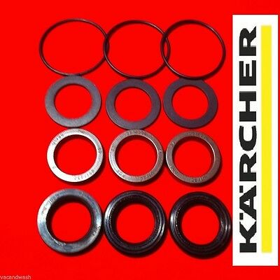 Karcher Hd Hds Pump Seals Kit 580 650 745 750 755 1000+ Full Pump Head Kit New