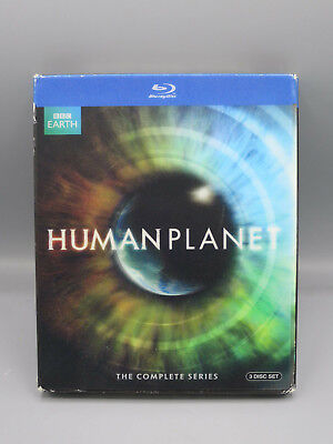 Human Planet [Blu-ray] The Complete Series BBC Earth 3 Disc Box Set