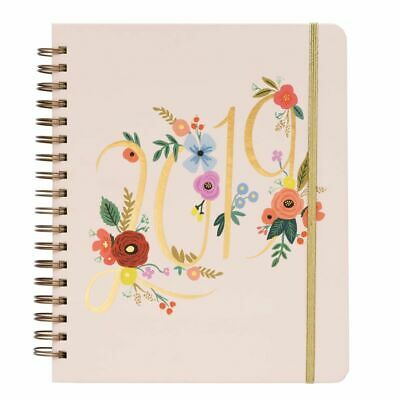 2019 Bouquet Spiral 2019 Planner, Decorative Planner by Rifle Paper Co.