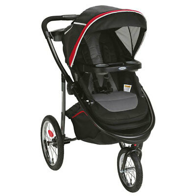 Graco Modes Jogger Lightweight Folding Compact Customizable Stroller, Chili Red