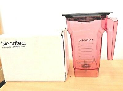 Brand-New Blendtec FourSide Jar, 2.2 Litre Container. BPA FREE (RED)