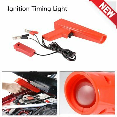 12V Car Engine Inductive Ignition Timing Light Lamp Pistol Grip Motorcycle M2OX