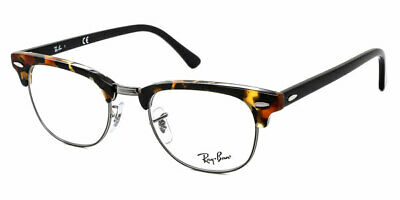 7289218887c7f RAY-BAN CLUBMASTER RX 5154 2001 White Transparent Clubmaster ...