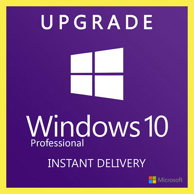 Windows 10 Professional Pro License Product Key - Upgrade Windows 10 Home key