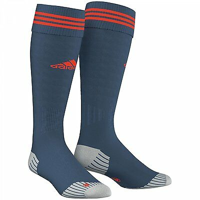 Adidas Adisock 12 [ Size 0 1 2 3 5] Football Support Teamsocks Socks Blue Nip