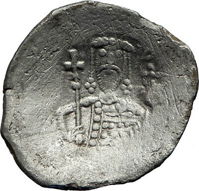 ALEXIUS I Comnenus Authentic Ancient 1081AD Byzantine Coin w JESUS CHRIST i71746