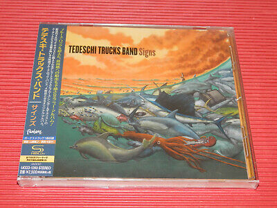 2019 JAPAN SHM CD TEDESCHI TRUCKS BAND Signs with Bonus Track for Japan Only