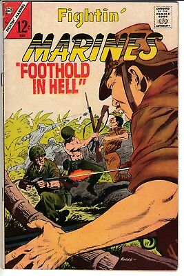 FIGHTIN' MARINES #74, Charlton Comics (1967)