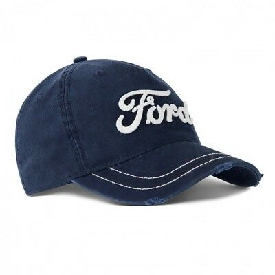Ford Lifestyle Kollektion Neu Original Ford Oval Blau Baseball Mütze 35020531 Automobilia