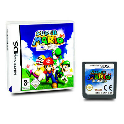 Nintendo Ds Jeu Original Super Mario 64 Emballage D'Origine sans Manuel Article
