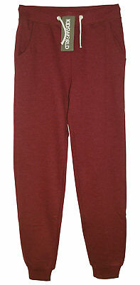 Sweathose KidsWorld 140 bis 170 bordeaux mel. Jogginghose Sweat Hose neu