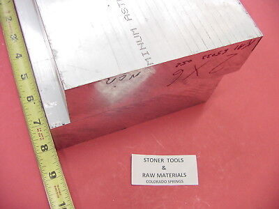 "2 Pieces 2"" X 8"" ALUMINUM 6061 FLAT BAR 8"" long Solid T6511 Plate Mill Stock"