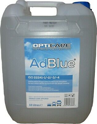 Greenchem AdBlue Universal Ad Blue 10L 10 Litres with Free Pouring Spout