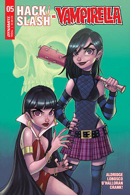 HACK/SLASH VS VAMPIRELLA #5, COVER A ZULLO, New, First print, Dynamite (2018)