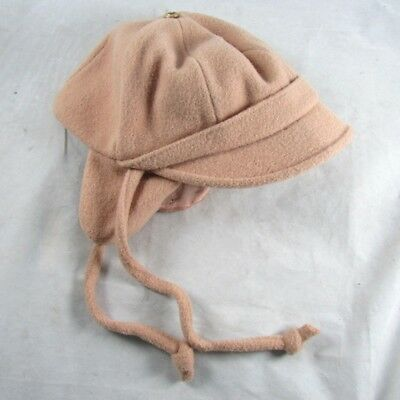 Wool Blend Hat with Ear Flaps Child Size 4 Tagged Rothschilds Vintage 1960s