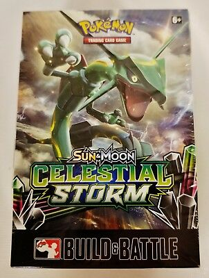 Pokemon TCG Sun & Moon Celestial Storm - Sealed Prerelease Kit in Storage Box